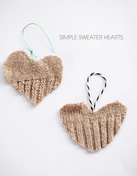 sweater hearts