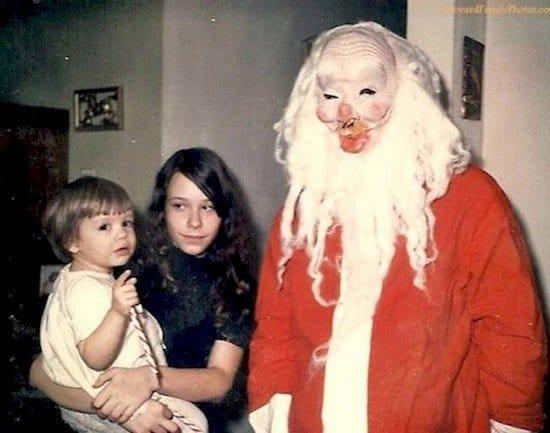 terrifying santa
