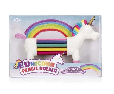 unicorn pencil holder box
