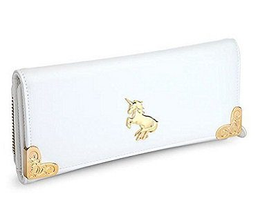 unicorn wallet white