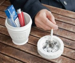urn ashtray