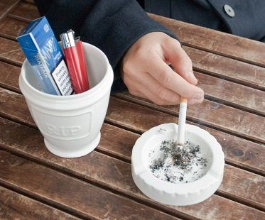 urn ashtray