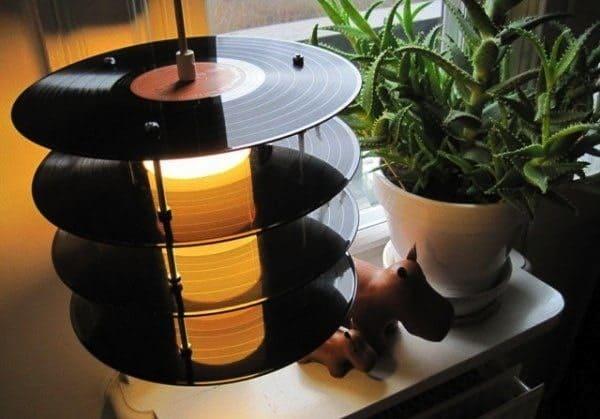 vinyl-lamp