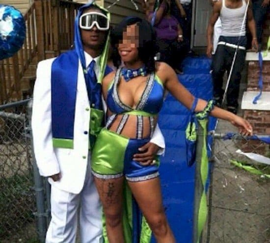 14 Prom Dresses That Are Just Horribly Wrong