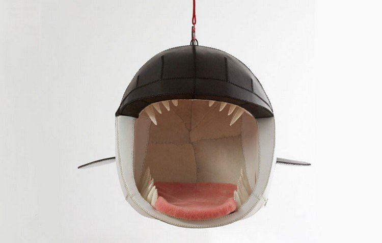 whale hanging chair