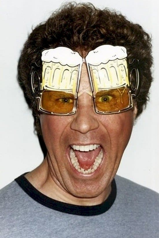will ferrell beer glasses