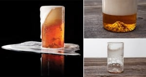 3D-Printed 'Mt. Hood' Pint Glass