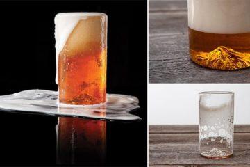 3D-Printed 'Mt. Hood' Pint Glass