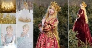 Angela Clayton Makes Princess Dresses