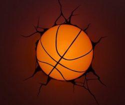 Basketball Night Light