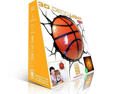 Basketball Night Light box
