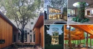 Beautiful Buildings Work Hand-In-Hand Nature