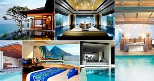 Bedrooms With Adjacent Pools