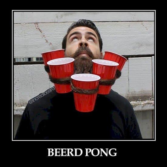 Beerd Pong