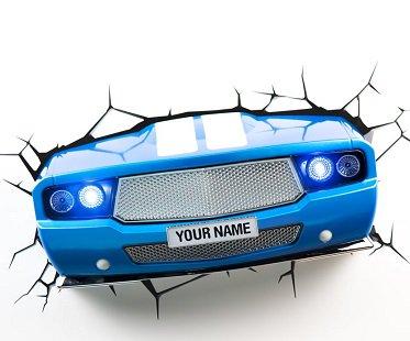 Blue Car Night Light