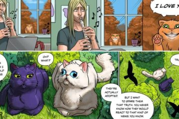 Cat-Related Comic Strips