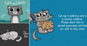 Cats On Catnip Bacon Bathrobe Comics