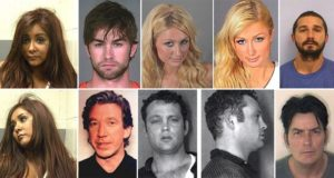 Celebrity Mugshots Surprise You