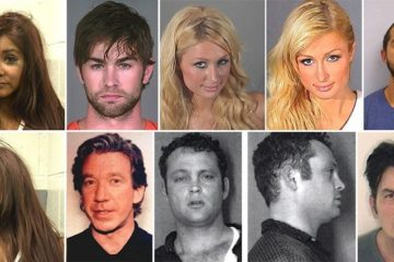 Celebrity Mugshots Surprise You