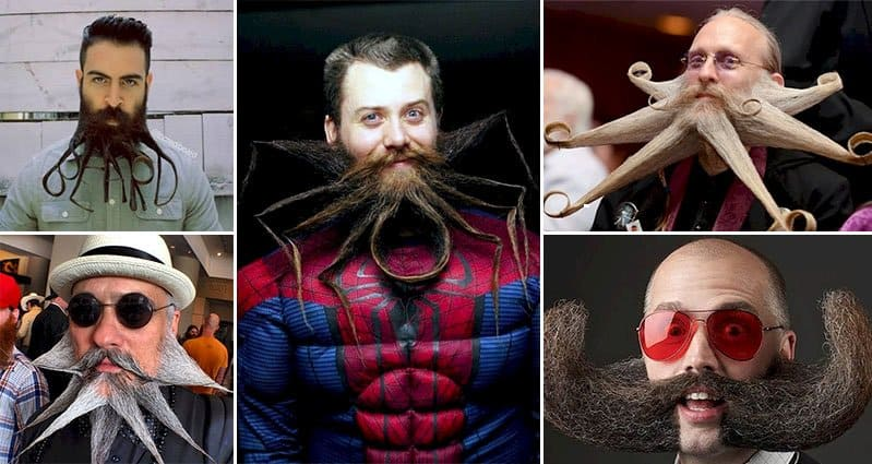 Hair Style With Beard: 10 Crazy Beard Designs That Will Put Your Own Boring Style