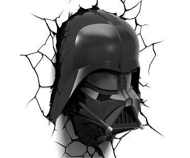 Darth Vader Night Light wall