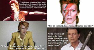 David Bowie Quotes Tribute Legend