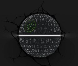 Death Star Night Light
