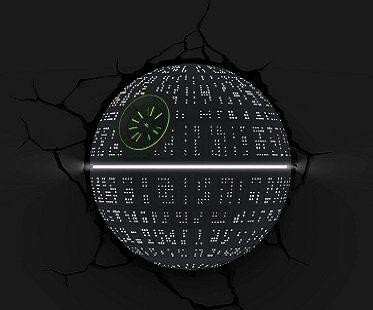 Death Star Night Light