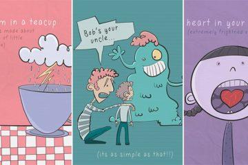 English Idioms Explained Illustrations