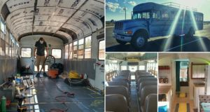 Father Son Transform Old Bus Dreamhome