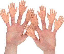 Finger Hand Puppets