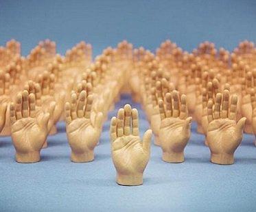 Finger Hand Puppets hands