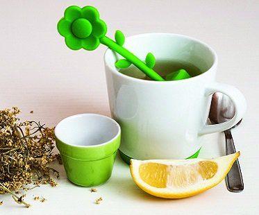 Flower Tea Infuser And Mug Set