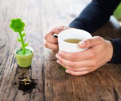Flower Tea Infuser And Mug Set cup