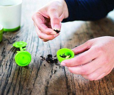 Flower Tea Infuser And Mug Set loose