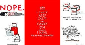 Gemma Correll Illustrations Anxiety Depression