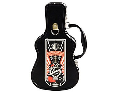 Guitar Case Lunch Box black