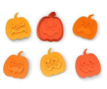 Halloween Pumpkin Cookie Cutters biscuit