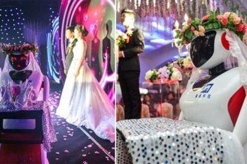 Hao Yue Robot Maid Of Honor Wedding