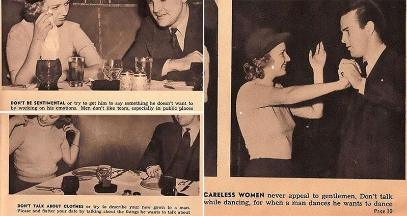 Dating Tips From 1938