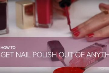 How To Remove Nail Polish Stains From Fabrics