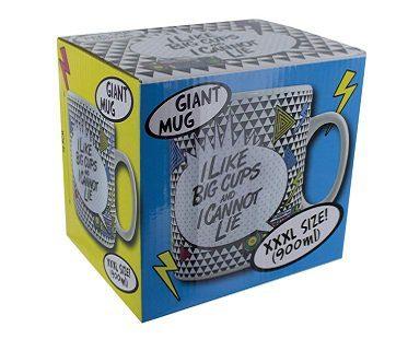 I Like Big Cups Mug box