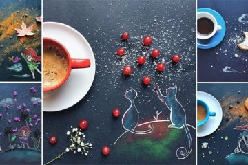 Illustrations With Food