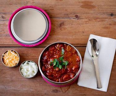 Insulated Food Bowl chilli