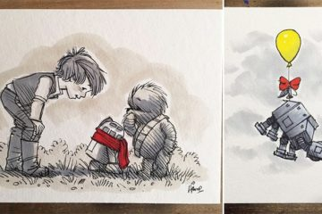 James Hance Reimagines Star Wars Winnie The Pooh And Friends
