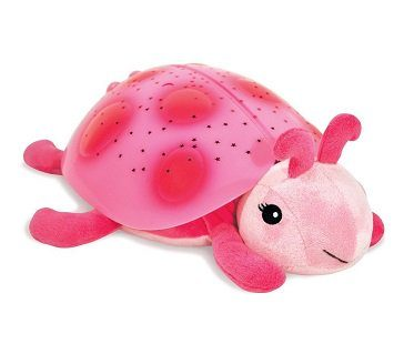 Ladybug Constellation Nightlight pink