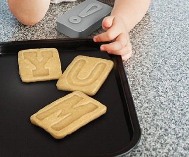 Letter Cookie Stamps And Cutters baking