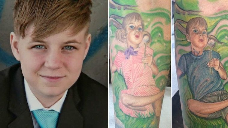 Lindsay Peace Changes Tattoo Transgender Teen
