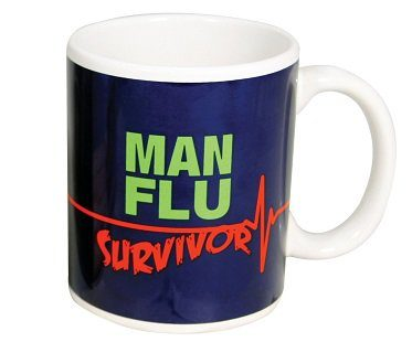 Man Flu Survivor Mug cup