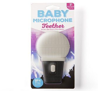Microphone Teether pack